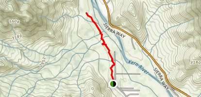 Bull Run Creek Trail Map
