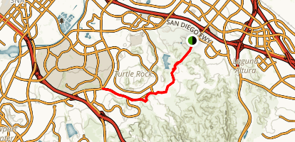 Shady Canyon Trail Map
