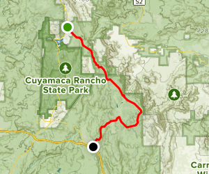 Sunrise National Scenic Byway Map