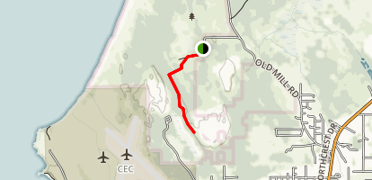 Tolowa Dunes State Park: Dead Lake Trail Map