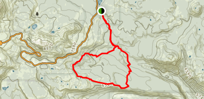 Corral Meadow Loop Trail Map