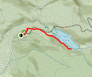 Clear Lake Trail Map