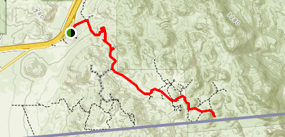 Valley of the Moon Trail Map