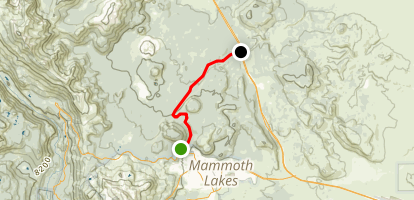 Mammoth Scenic Ride Map