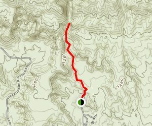 Owl Canyon Trail Map