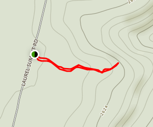 Beam Rock Trail Map