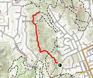 Tilden Trail Map