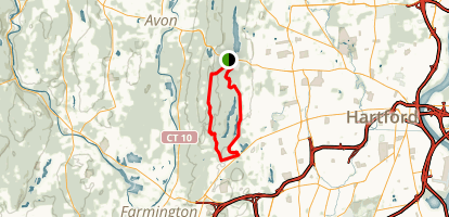 Metacomet Trail Map