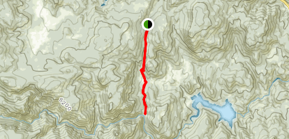 Coulson Gulch Trail Map