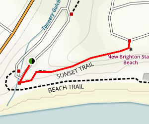 Sunset Trail Map