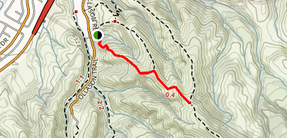 Bessie Canyon Trail Map