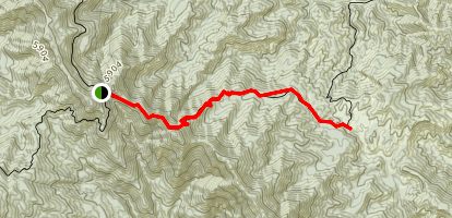 Madulce Trail Map