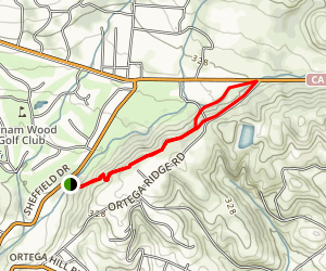 Coffin Family Trail Map