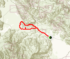 Lower Willows Trail Map