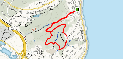 Hemlock Ravine, Wentworth, and Governor's Loop Trail Map