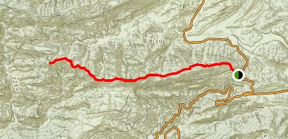 Dry Lakes Ridge (CLOSED) Map