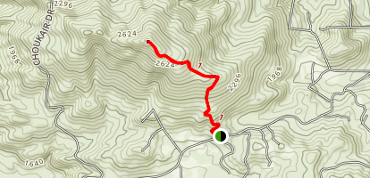 Sycuan Peak Trail Map