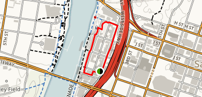 Old Sacramento State Historic Park Trail Map
