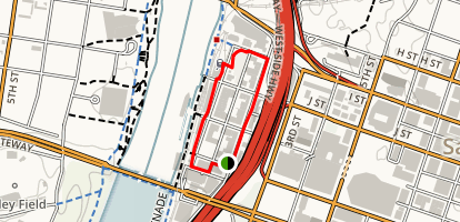 Old Sacramento State Historic Park Loop Map