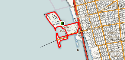 Berkeley Marina Loop Trail Map