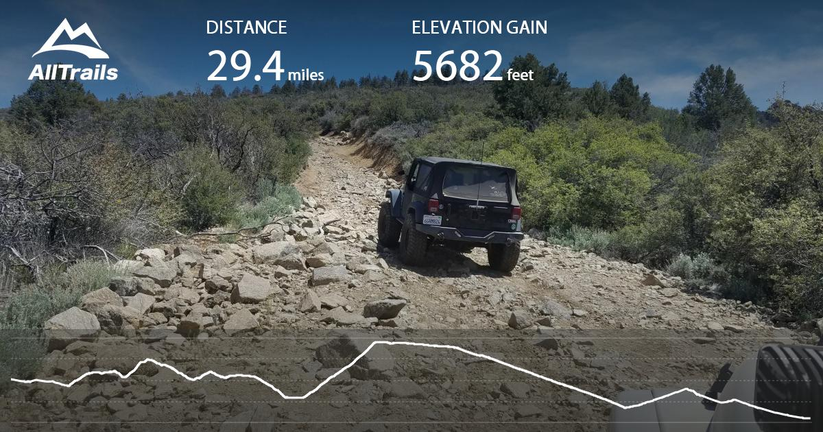 4x4 Off Road >> Lockwood / Miller Jeep Trail - California | AllTrails.com