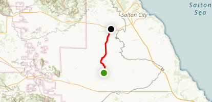 Cross Over Trail Map