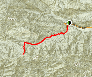 Monte Arido Trail Map