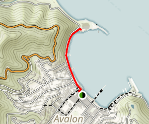 Avalon Bay Trail Map