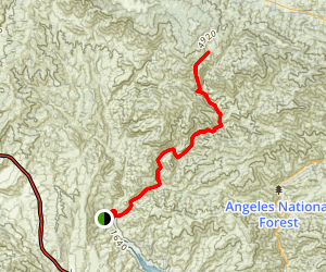 Fish Canyon Trail to Atmore Meadows Map