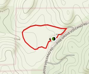 Indian Grinding Rock Loop Trails Map