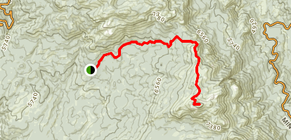 Shuteye Peak Trail Map