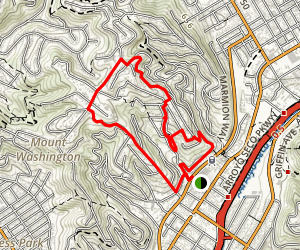 Mount Washington Neighborhood Trails Map