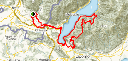 Mount Plate MTB Trail Map