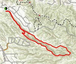 Hidden Valley Canyon Map