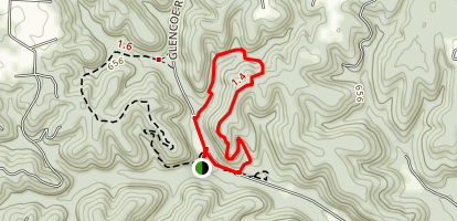 Trail Among the Trees Map
