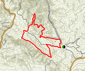 Valley View, Black Hills, and Homstead Trail Loop Map