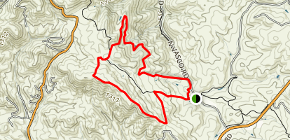 Valley View, Black Hills, and Homestead Trail Loop Map