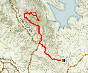 Black Hills and Whipsnake Loop Trail Map