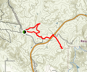 Black Hills South Trail Map