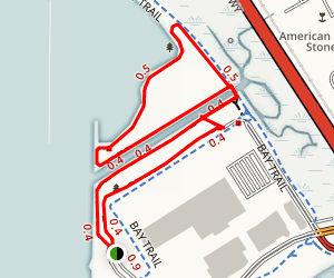 Point Isabel Shoreline & Dog Park Map