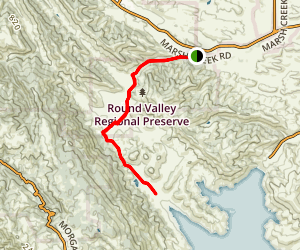 Miwok Trail to Adobe Trail Map