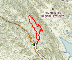 Volvon and Blue Oak Loop Trail Map
