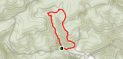 Honeymoon Falls Trail Map