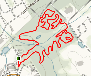 Gainesville College Bike Trail Map