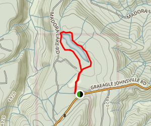 Madora Lake Loop Trail Map