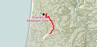 Rhododendron Trail Map