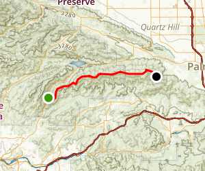 Sierra Pelona Road Map