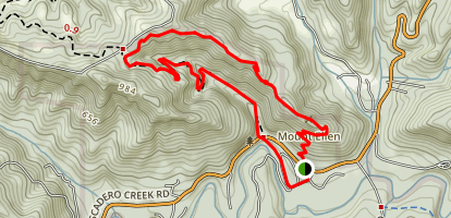Pomponio Loop Trail Map