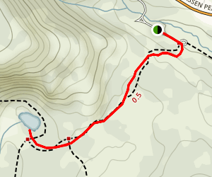 Cold Boiling Lake Trail Map