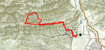 Kennedy Ridge Trail (CLOSED) Map